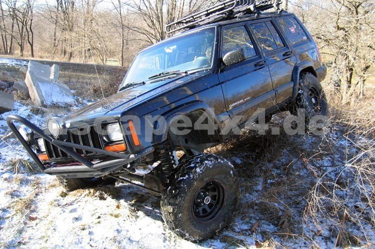 """fahrwerk rough country lift kit pro ii jeep cherokee xj 6,5"""" +"""