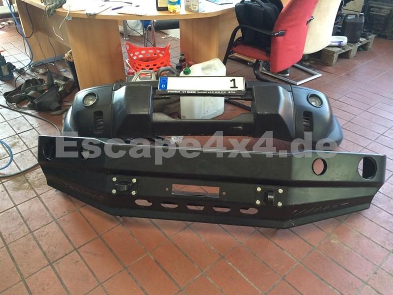 HD-Windenstoßstange für Nissan Patrol Y61   Escape4x4.de ...