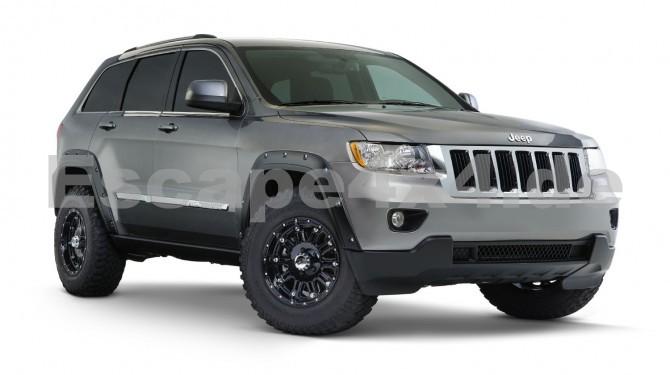 kunststoffabdeckungen bushwacker pocket jeep grand. Black Bedroom Furniture Sets. Home Design Ideas