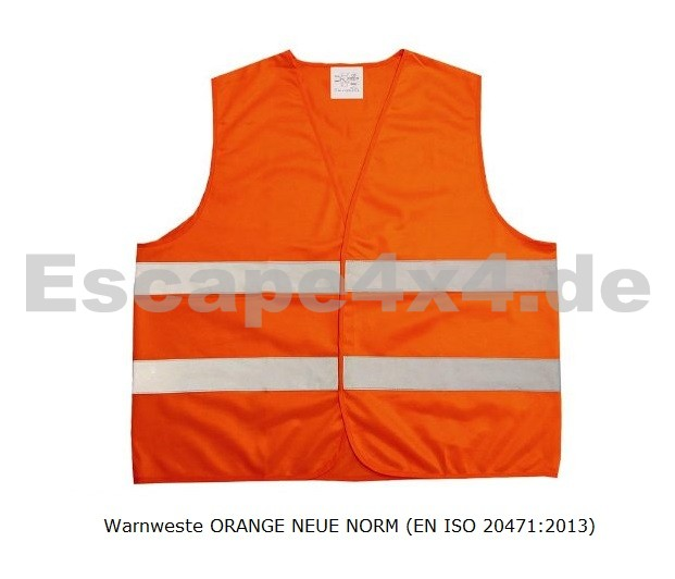warnweste orange neue norm en iso 20471 2013 ersetzt en 471 ab 2014 auch im privaten pkw. Black Bedroom Furniture Sets. Home Design Ideas
