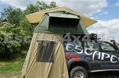 Dachzelt Escape 120 cm mit Vorraum für 2-3 Personen