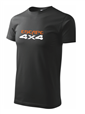 Herren T-Shirt in schwarz - Escape4x4 - Design 1