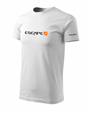 Herren T-Shirt in weiss - Escape4x4 - Design 5